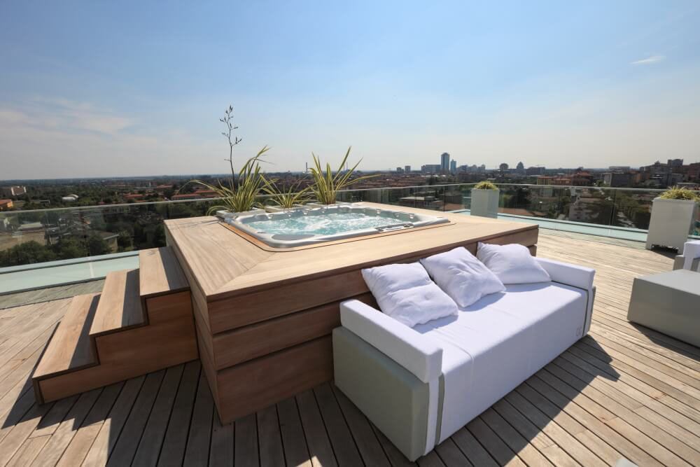 Everything you need to know to install a swimming pool on the terrace