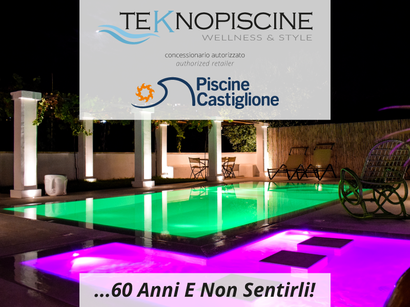 Piscine Castiglione is the story of a 60-year long success