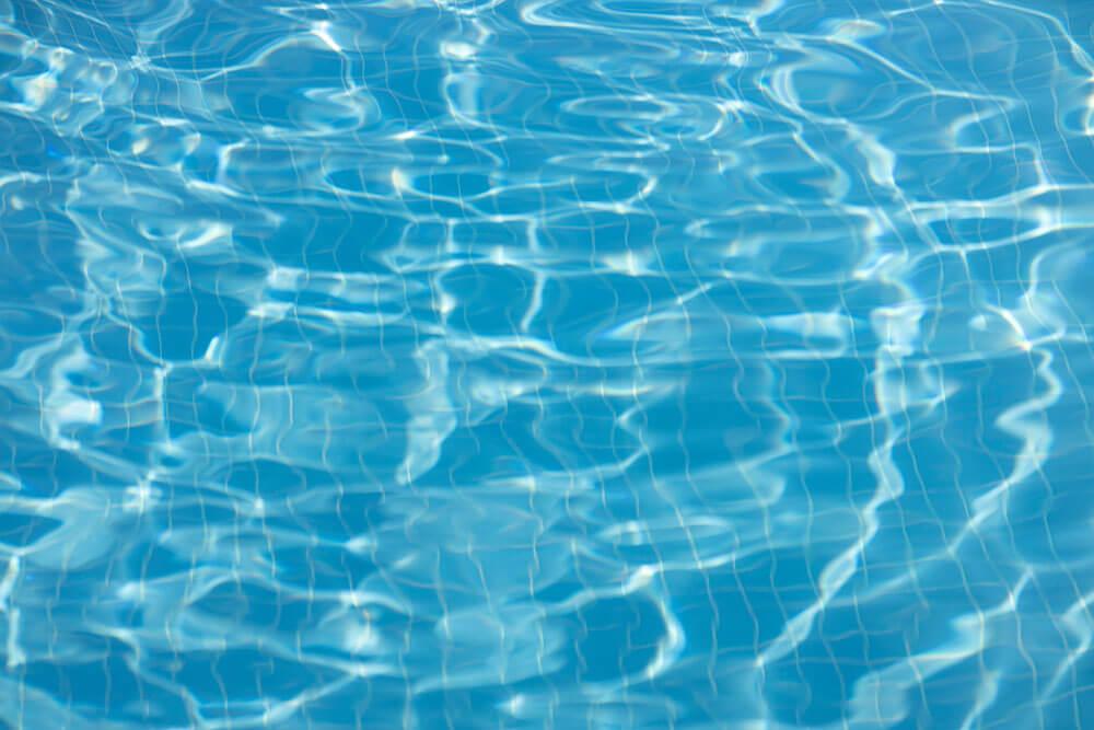 Acqua della piscina sempre limpida e cristallina